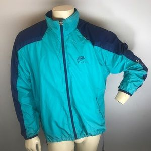 Vintage Nike F.I.T. Full Zip Windbreaker 90s